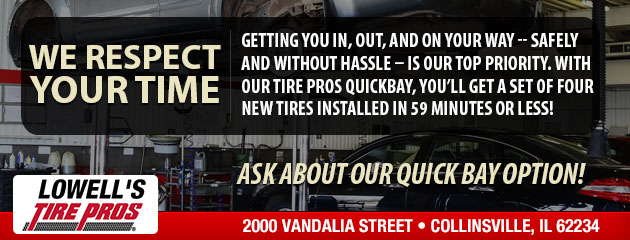 We Respect your Time. Ask us about Our Quick Bay Option