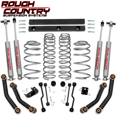 Rough Country Suspension Lifts Available at Lowell's Tire Pros Service Center in Collinsville, IL