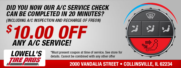 $10 OFF Any A/C Service