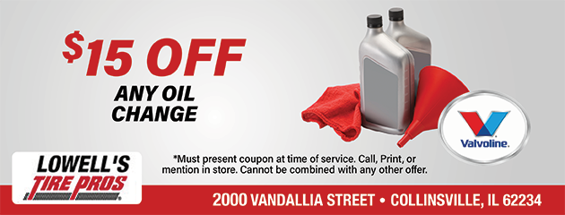 $15 OFF Any Oil Change!